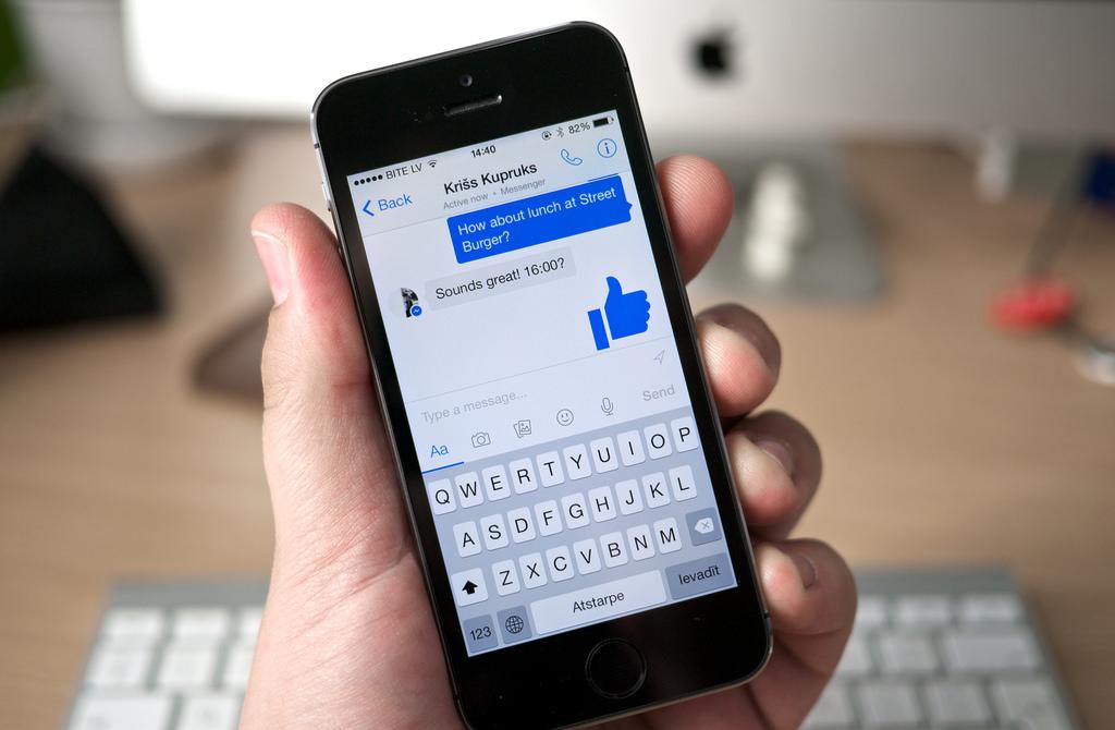 facebook messager espionnage