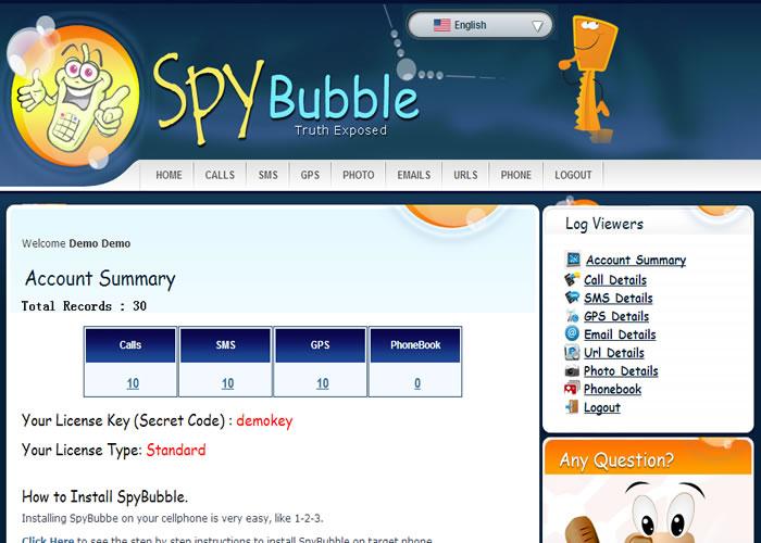 logiciel espion spybubble